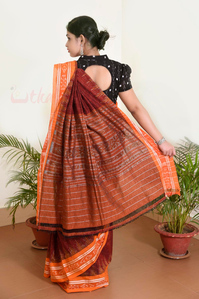 Maroon Orange Jharana
