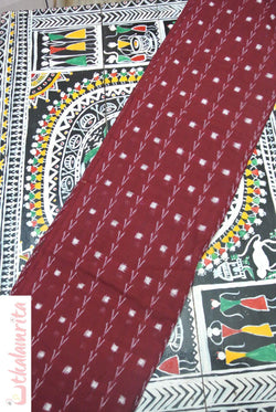 Maroon Tipa Pasapali Arrows (Fabric)