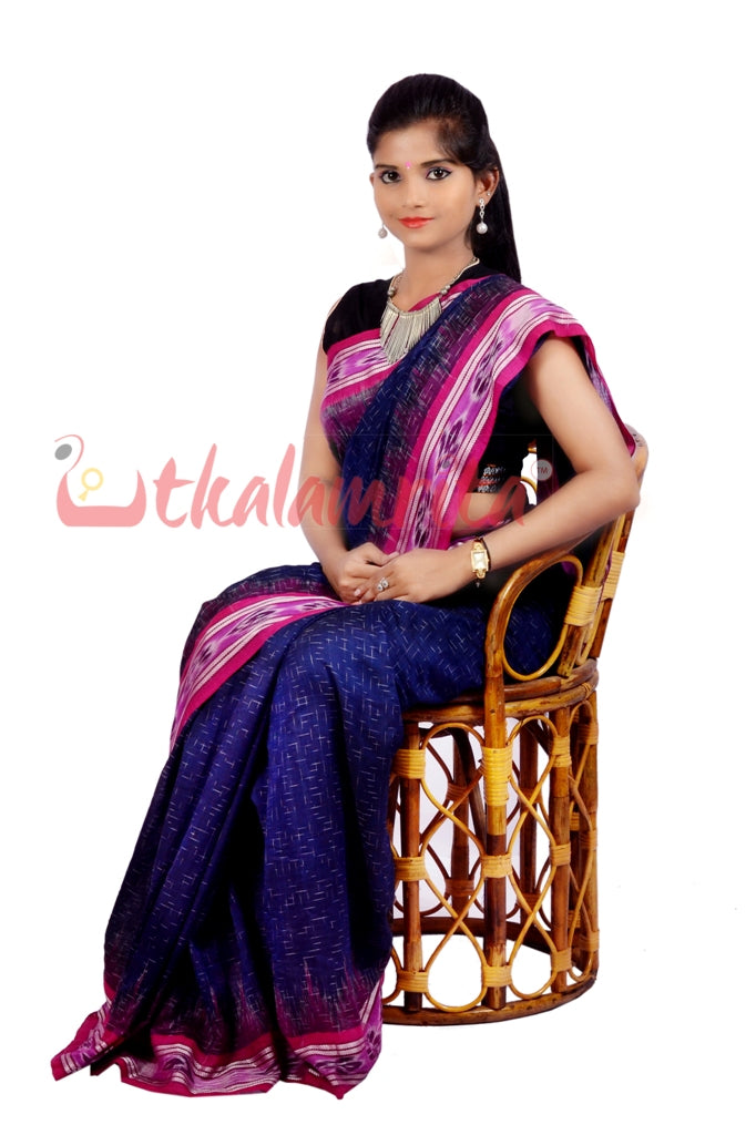 Navy Blue Wine Jharana