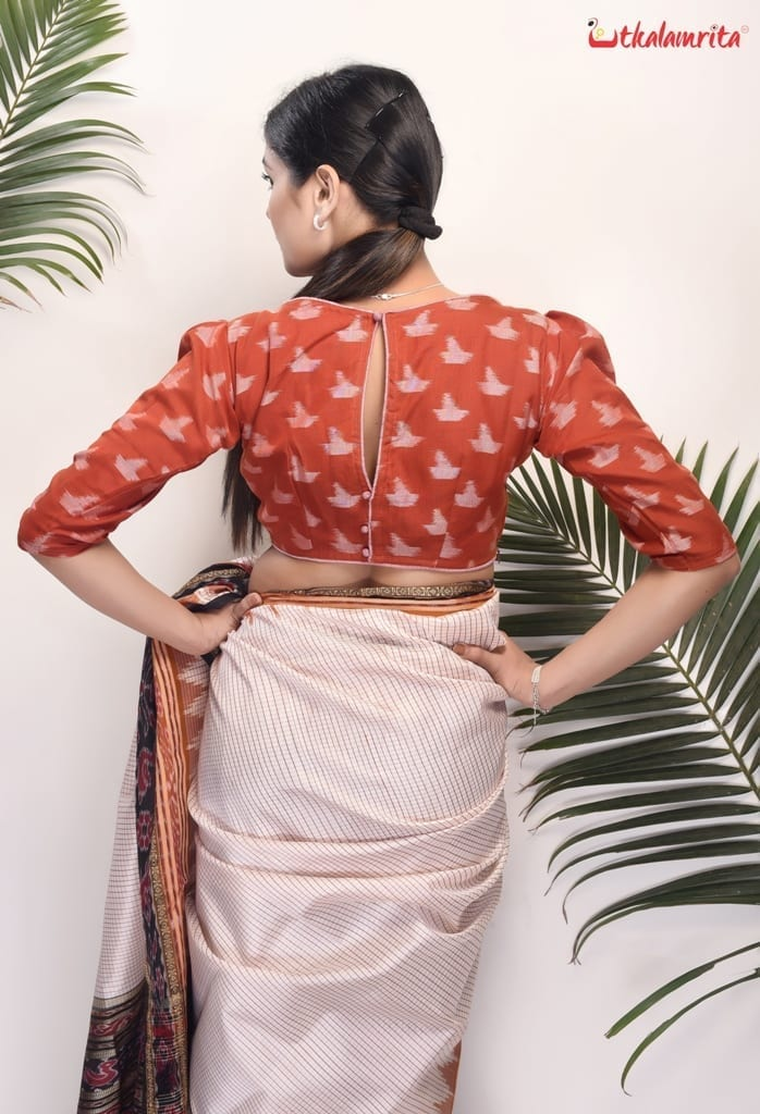 Rusty Ship Puff Sleves (Blouse)