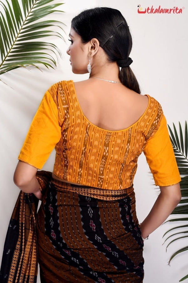 Yellow Ikat Back (Blouse)