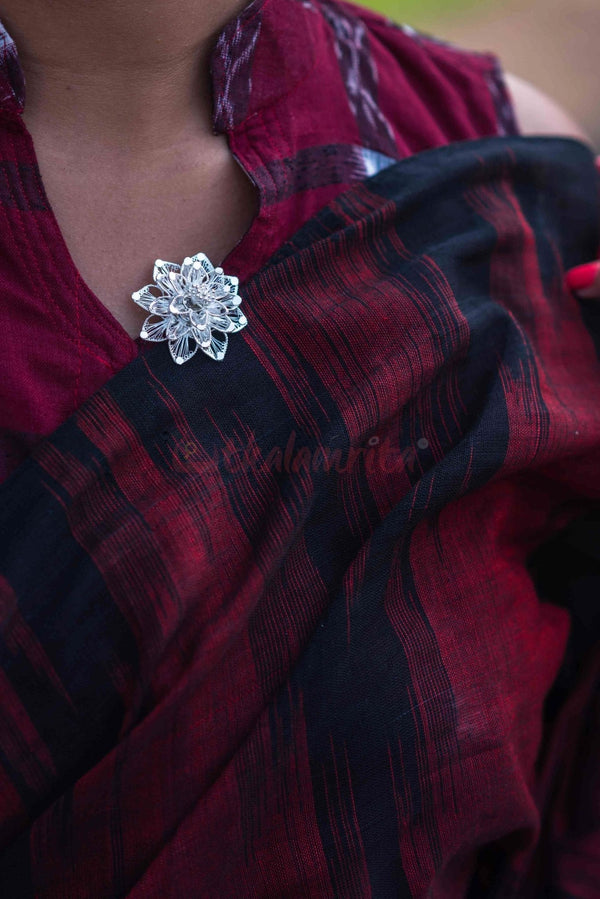 Big Rose Saree Pin