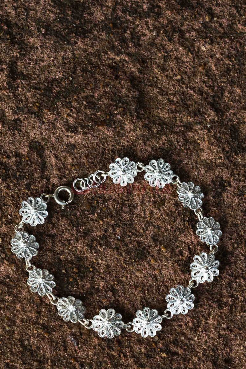 Joined Flowers (Bracelet)