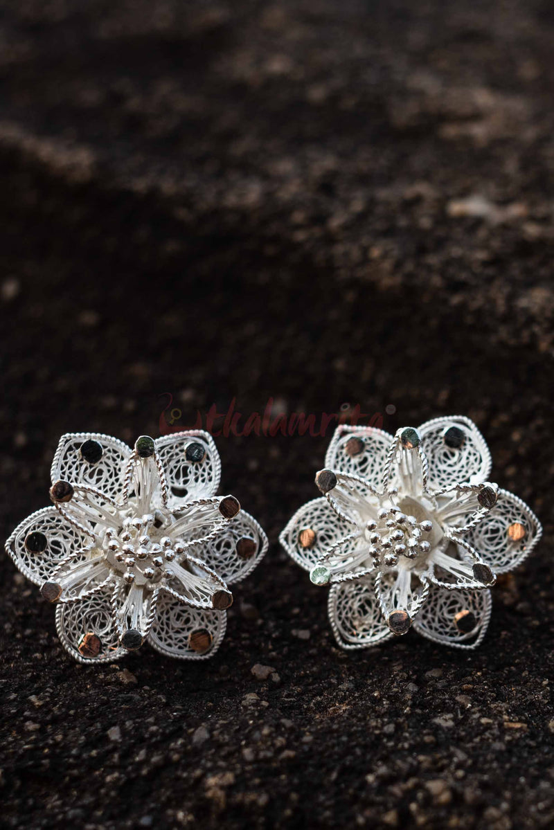 Italy Rose Studs