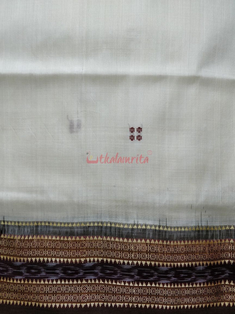 White Coffee Rekha Buti Silk