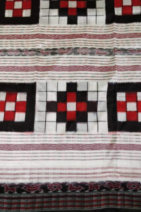 Contrast Bichitrapuri White Red