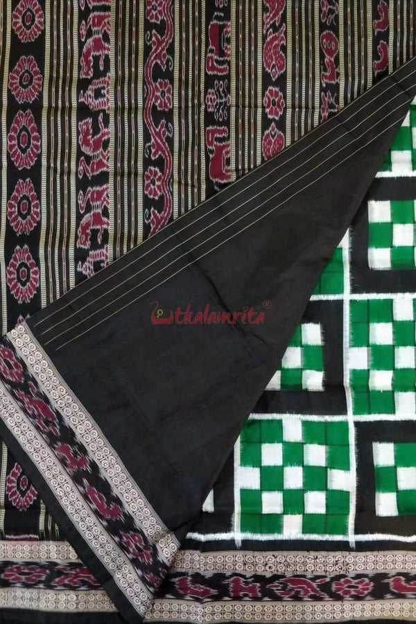 7 Kuthi Black Green Pasapali