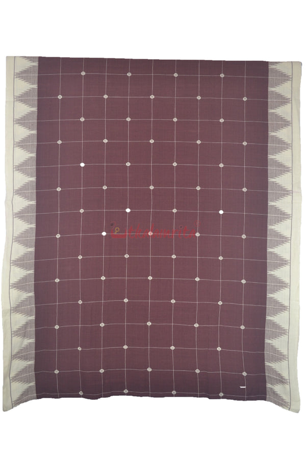 Maroon Stripes Cotton Kotpad