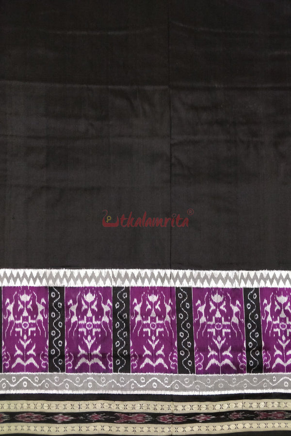 Black Purple Tribal Borders