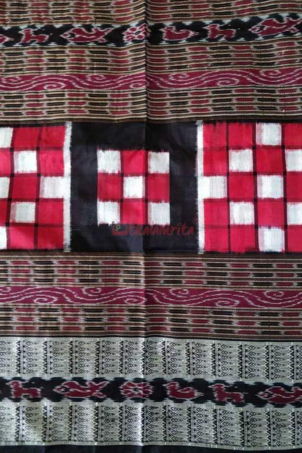 Red Bichitrapuri Silk