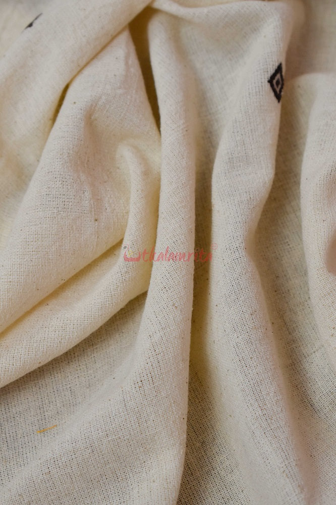 Kotpad White Buti (Fabric)