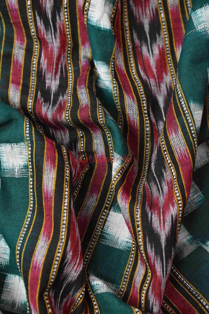 Green Madhupuri (Fabric)