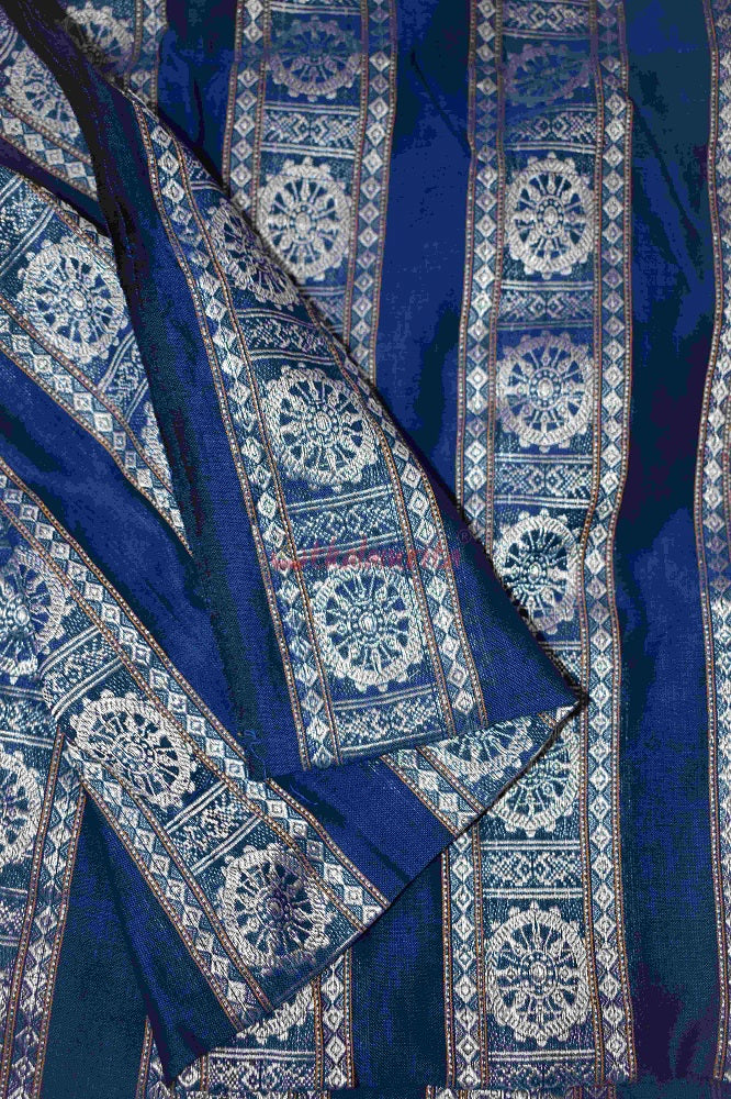 Blue Konark Wheel (Fabric)