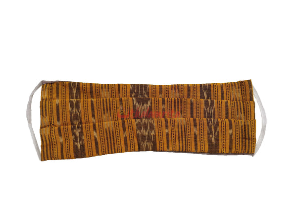 Yellow Ikat 2-Layer Mask