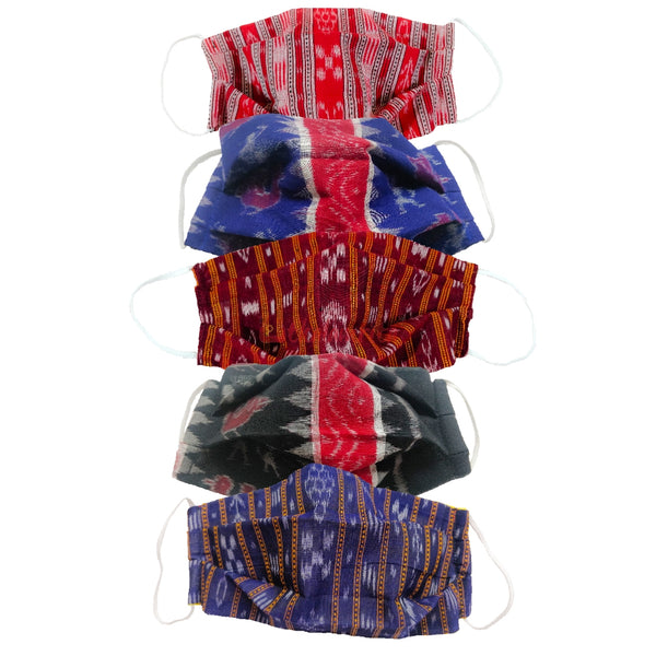 Ikat and Tribal Mask (Pack of 5)