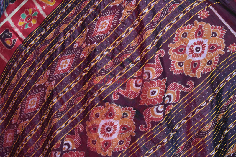 Red Coffee Nabarangi Silk