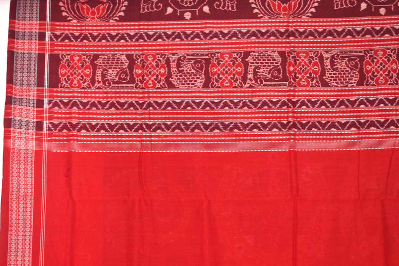 Coffee Red Konark Chakra Elephants