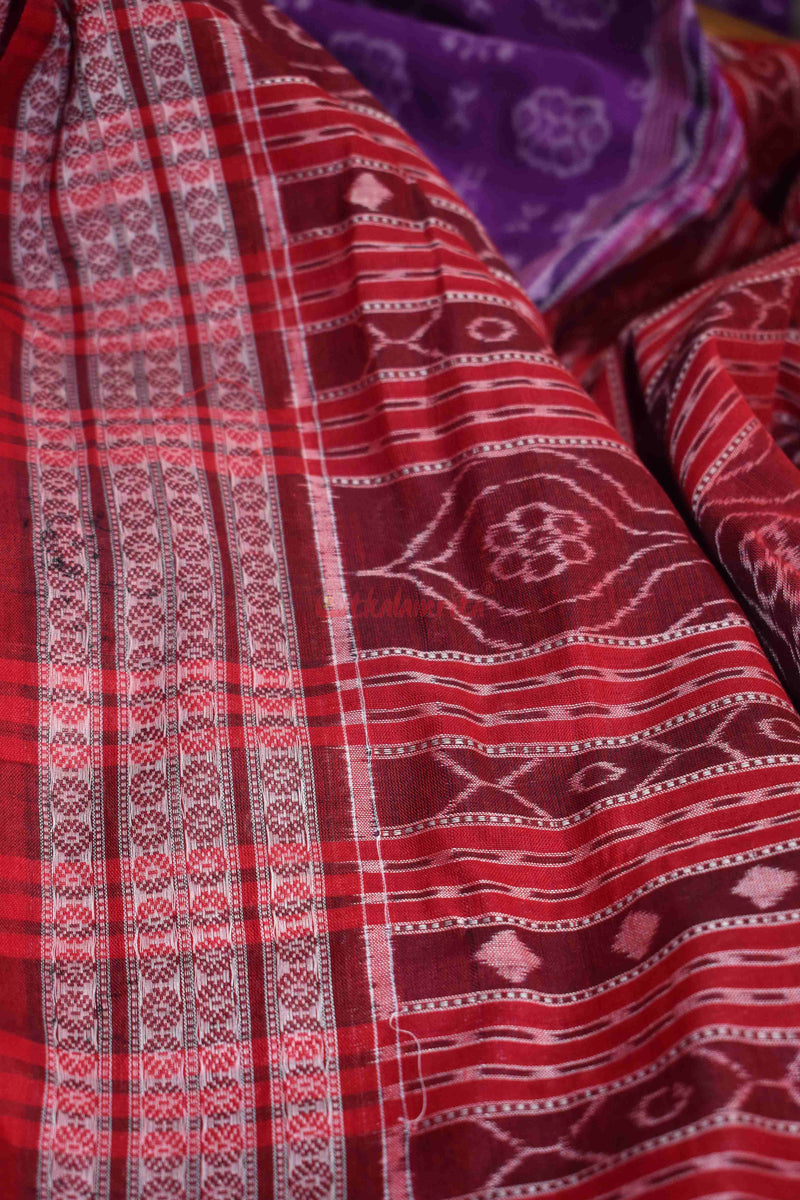 Purple Red Soura Tribals