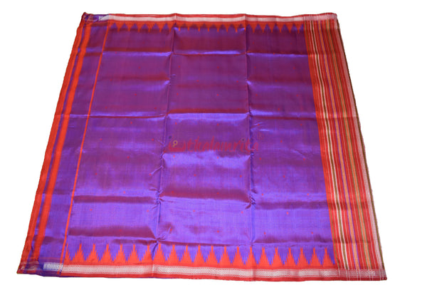 Purple Red Double Anchal