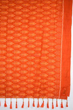 Orange Patli Designer Sambalpuri