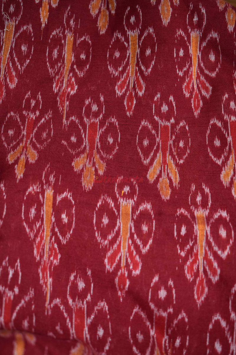 Butterfly Maroon (Fabric)