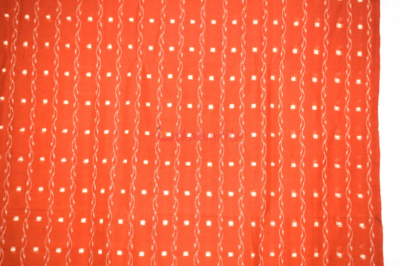 Rust Orange Tipa Pasapali Lata (Fabric)