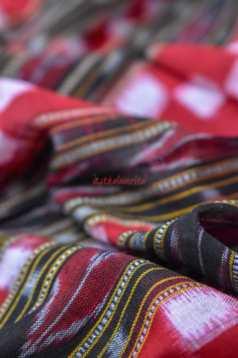 Red Madhupuri (Fabric)
