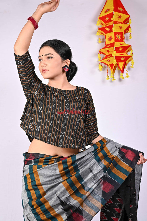 Black Ikat (Blouse)