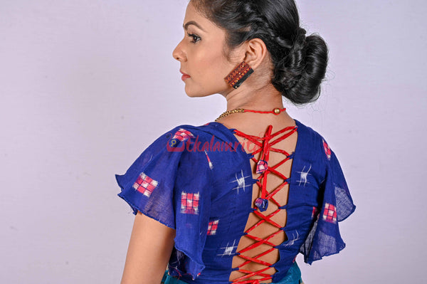 Blue Star Sakta (Blouse)