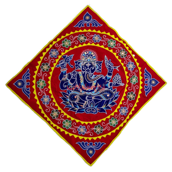 Red Blue Ganesh Chandua