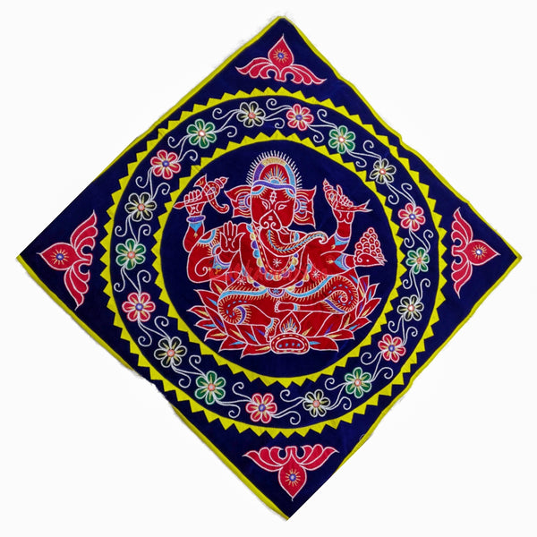 Blue Red Ganesh Chandua