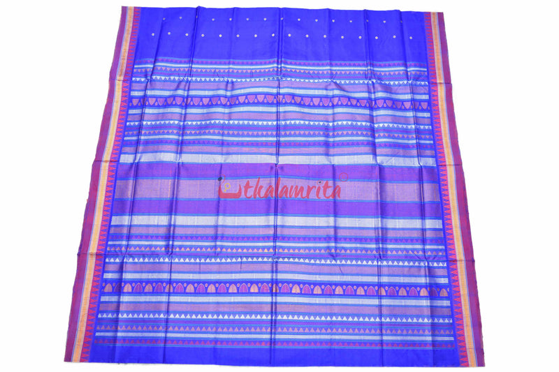 Exotic Blue Dongria Silk