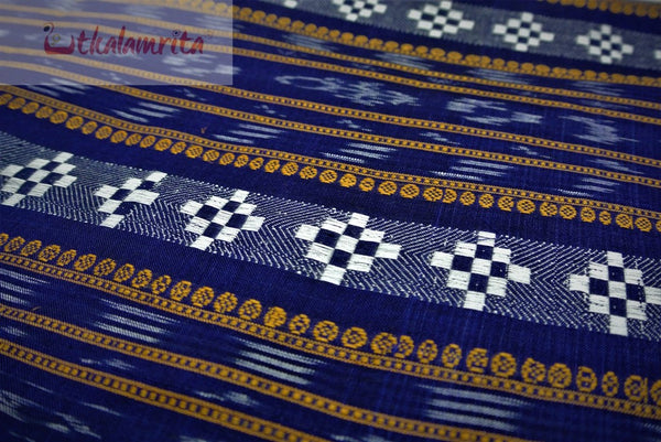 Blue Dobby Pasapali (Fabric)