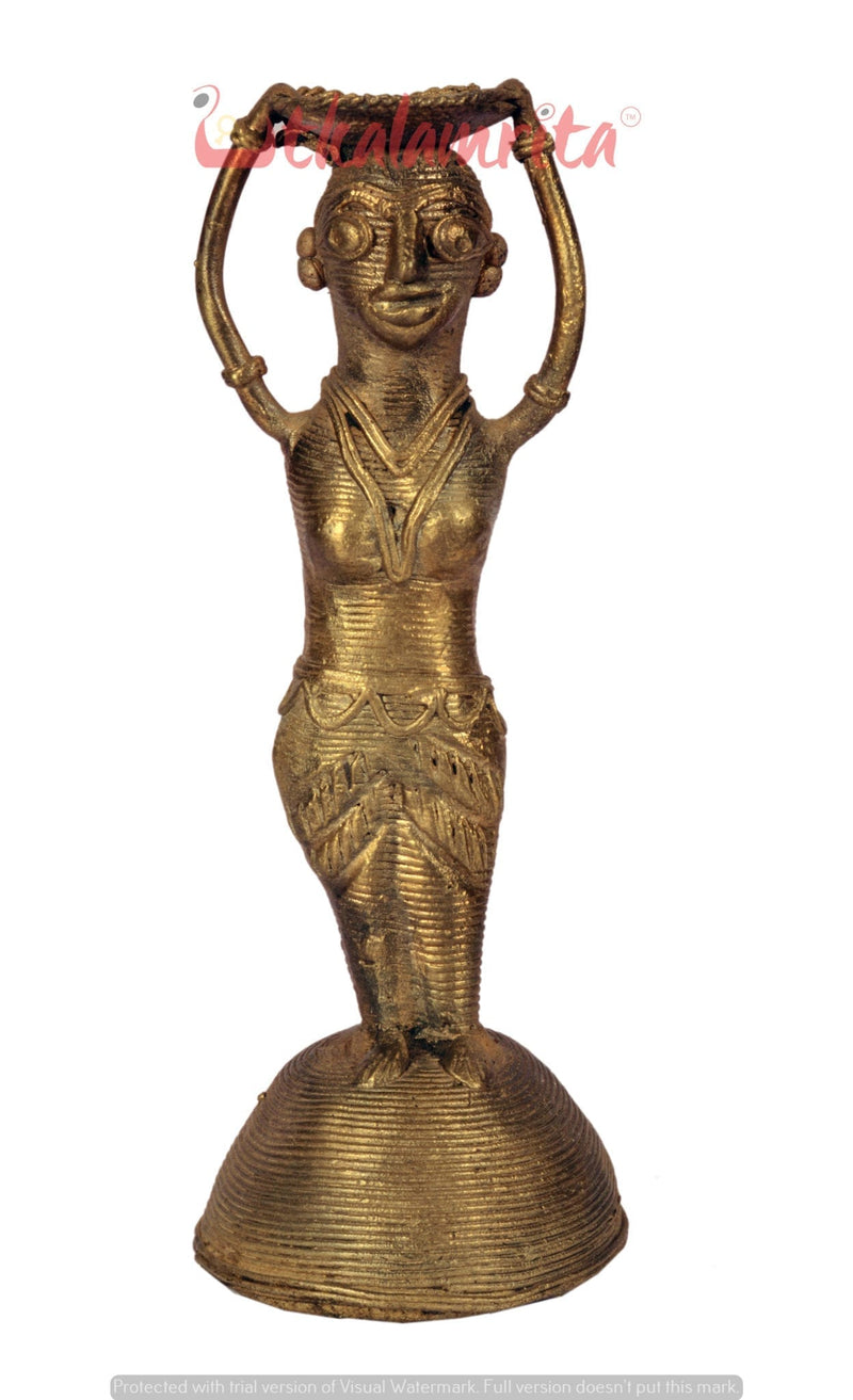 Utkalamrita Holding Vessel On Head Showpiece
