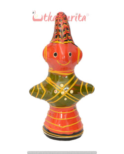 Utkalamrita Lakha Doll Showpiece