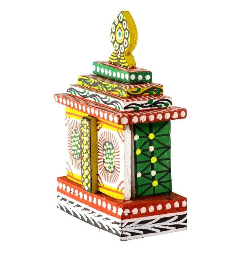 Utkalamrita Exquisite Small Mobile Temple Lord Jagannath