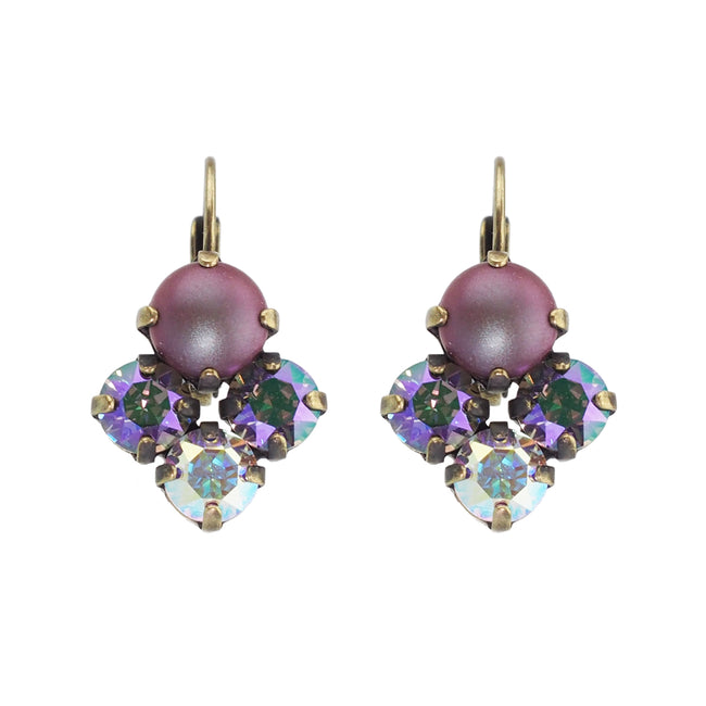 All My Love Earrings - Purple