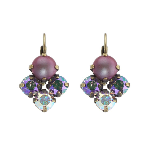 Bliss Earrings - Amethyst