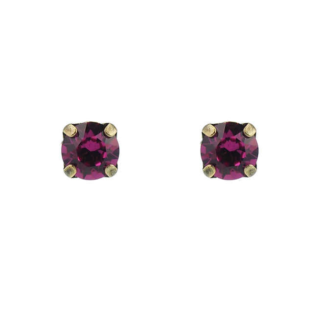 Bliss Studs small - Fuschia