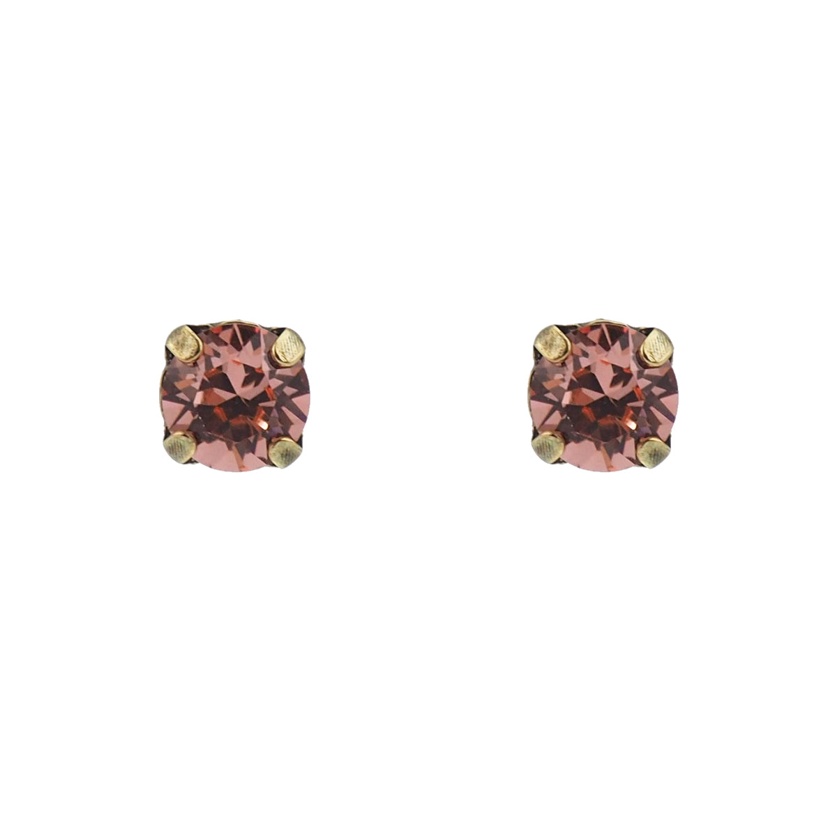 Bliss Studs small - Rose Peach