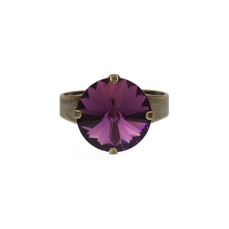 Bliss Ring - Amethyst