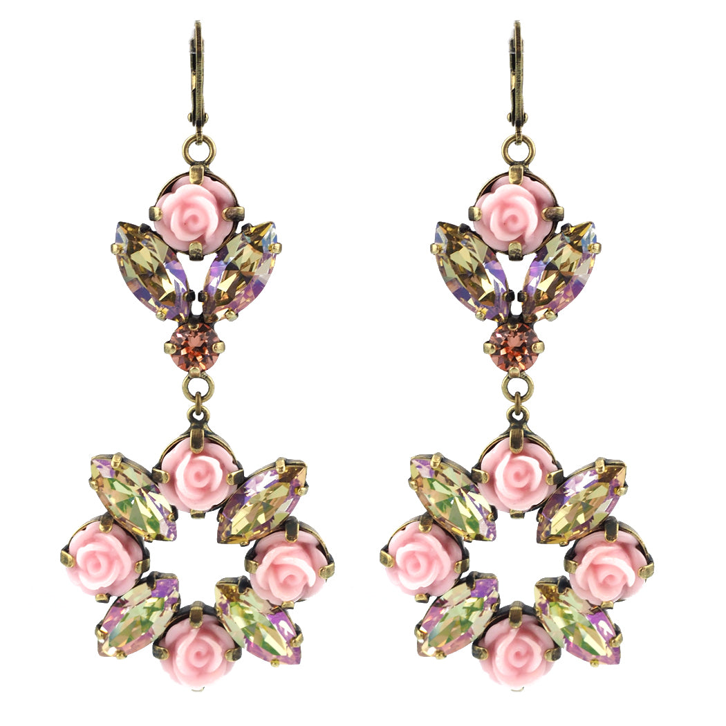 Blooming Beauty Earrings grand - Peach