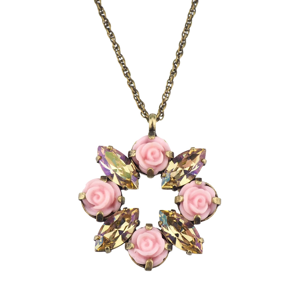 Blooming Beauty Pendant - Peach
