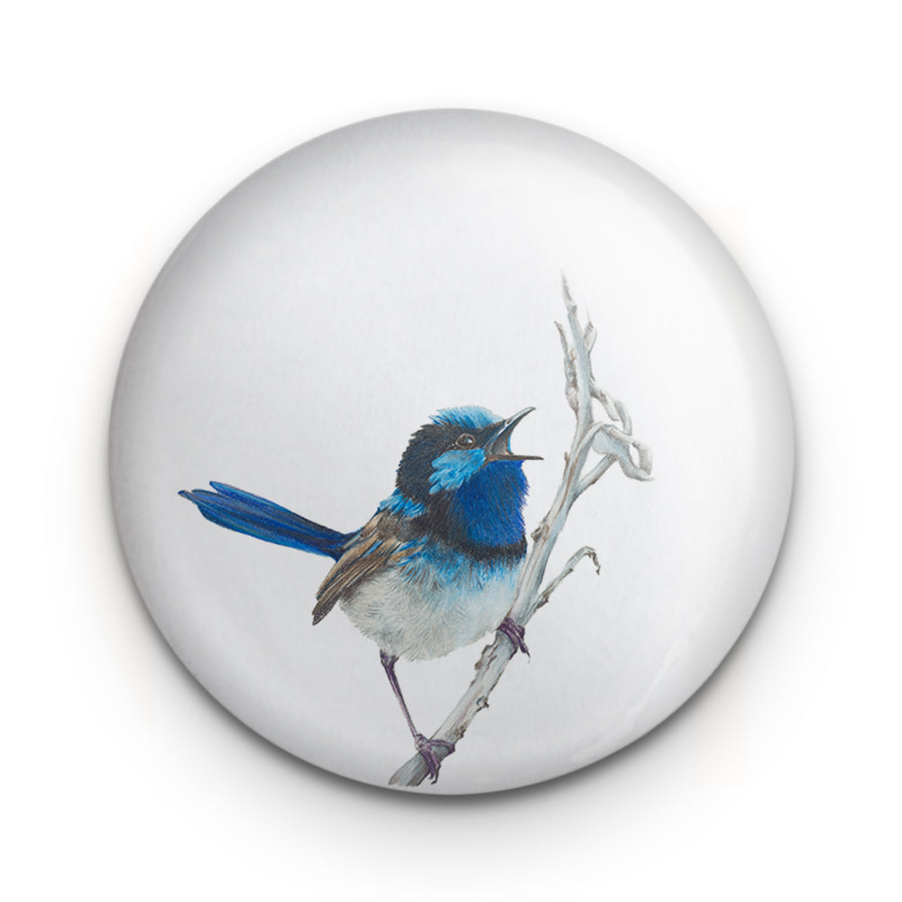 Blue Wren Badge