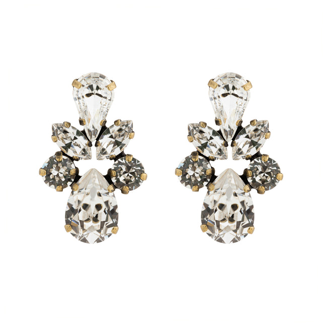 Butterfly Kisses Studs - Clear