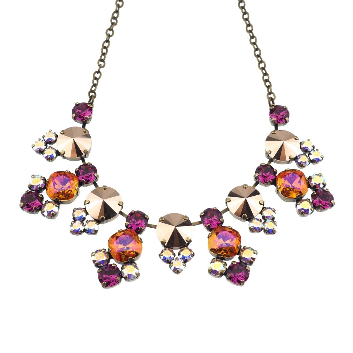 Cosmic Kiss Necklace - Astral Pink