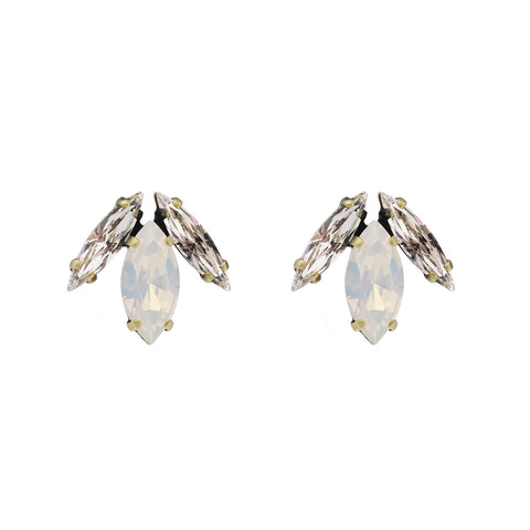 Surrender Earrings - White