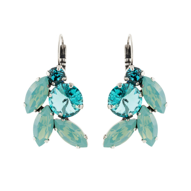 Devoted to You Earrings - Pacific Opal