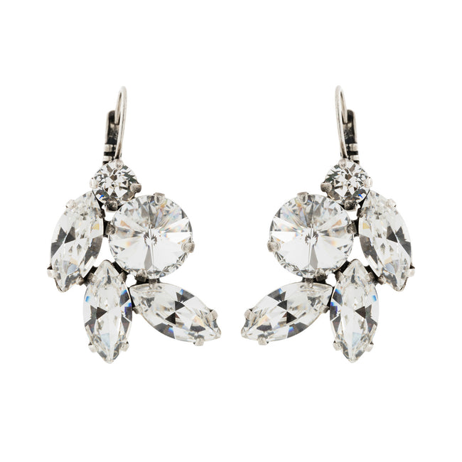 Devoted to You Earrings - Clear