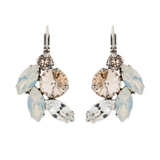 Devoted to You Earrings - Light Silk